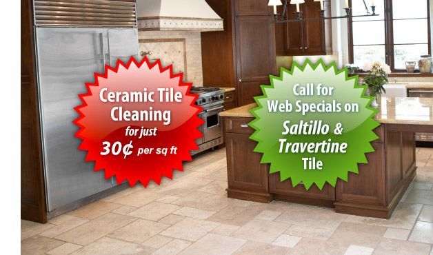 Scottsdale Travertine Cleaning, Saltillo Tile Cleaning